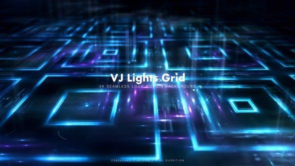 Thumbnail for VJ Lights Grid 4