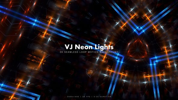 Thumbnail for VJ Neon Lights 17