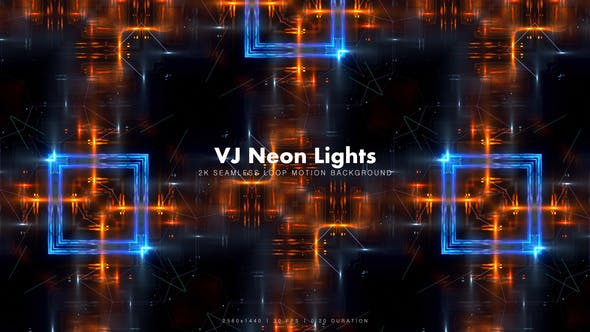 Thumbnail for VJ Neon Lights 16