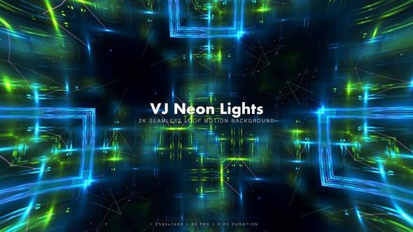 Thumbnail for VJ Neon Lights 15