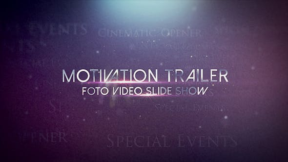 Thumbnail for Motivation trailer