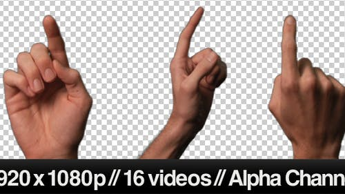 Touch Screen Finger Gesture - Single Click