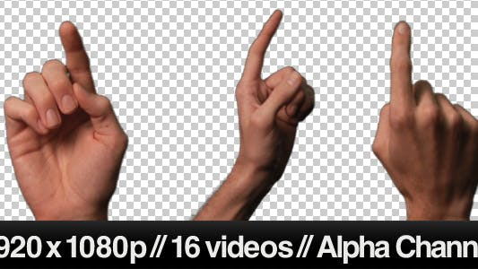 Thumbnail for Touch Screen Finger Gesture - Single Click