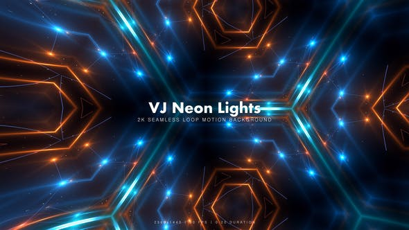 Thumbnail for VJ Neon Lights 12