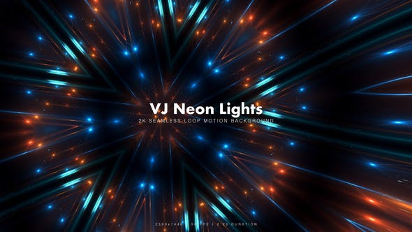 Thumbnail for VJ Neon Lights 11