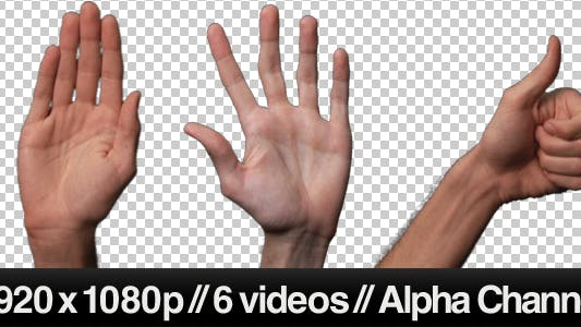 Touch Screen Finger Gesture - wave, thumbs up, etc