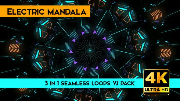 Thumbnail for Electric Mandala Vj Loops