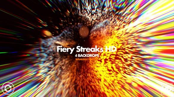 Thumbnail for Fiery Streaks HD