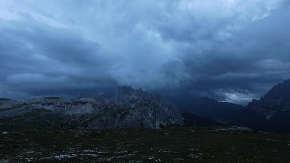 Thumbnail for National Nature Park Tre Cime In the Dolomites Alps . Beautiful Nature