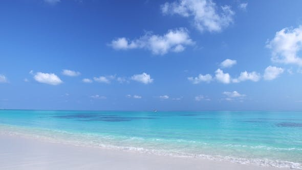 Maldivian Destination with Nobody