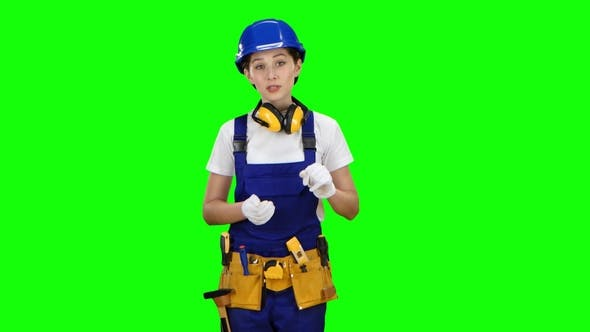 Thumbnail for Girl Engineer Conducts a Program on Building Materials