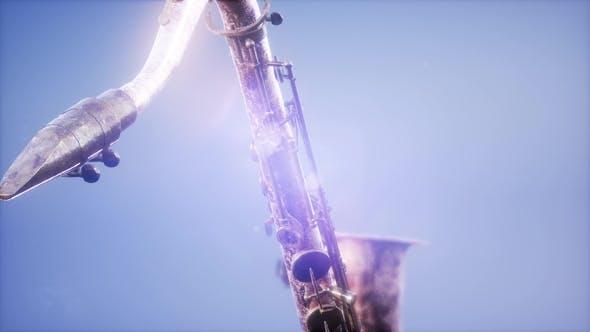 Thumbnail for Golden Tenor Saxophone