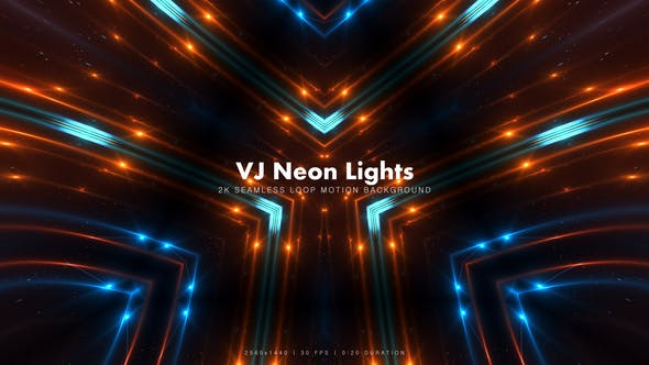 Thumbnail for VJ Neon Lights 4