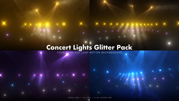 Thumbnail for Concert Lights Glitter Pack 2