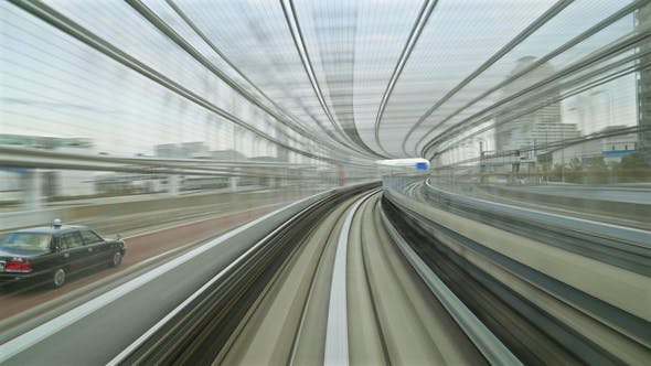 Thumbnail for Tokyo Monorail Hyperlapse