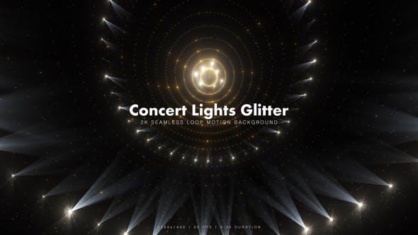 Thumbnail for Golden Concert Lights Glitter 19