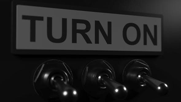 Turning on Toggle Switch