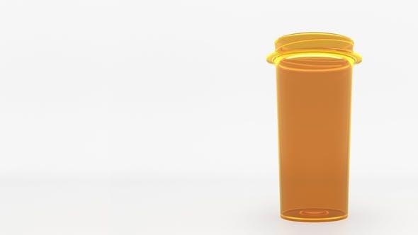 Thumbnail for Antipsychotic Pills in a Prescription Bottle