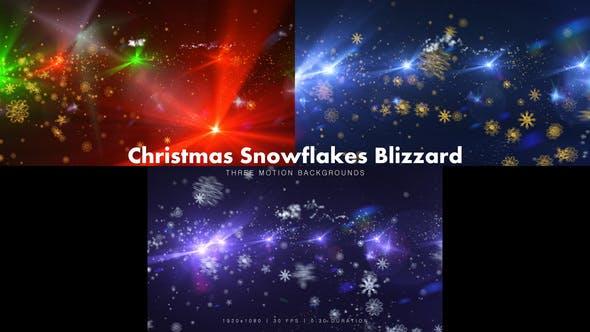 Thumbnail for Christmas Snowflakes Blizzard