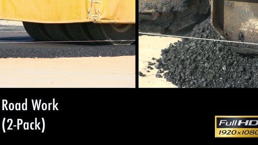 Thumbnail for Road Works Hot Asphalt (2-Pack)