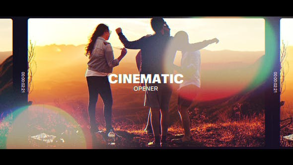 Thumbnail for Cinematic Modern Slide Promo