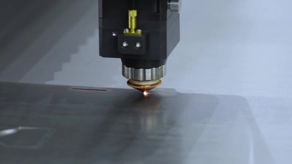 Thumbnail for CNC Laser Cutting of Metal, Modern Industrial Technology