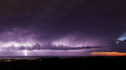 Supercell Lightning Storm