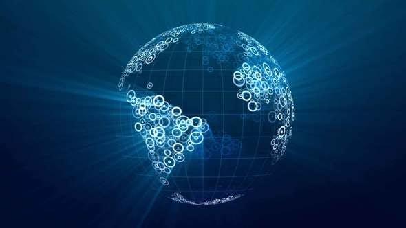 Thumbnail for Spinning Globe 07