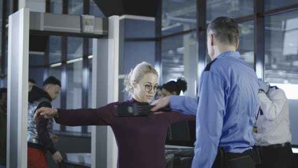 Thumbnail for Passengers Having Examination in Airport