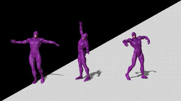 Thumbnail for Gay Superhero Dancing