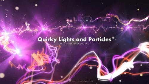 Quirky Lights and Particles 2