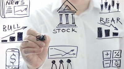 Illustration on Stock Exchange
