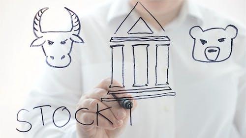 Illustration on Stock Exchange
