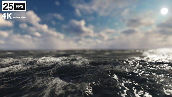 Thumbnail for Flying Through Sea 02 4K