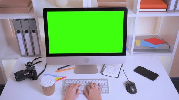 Thumbnail for Designer Works in Office