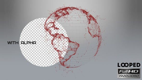Thumbnail for Earth - Plexus With Alpha - Red