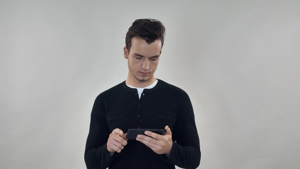 Cover Image for Millennial Person Holding Smar Phone