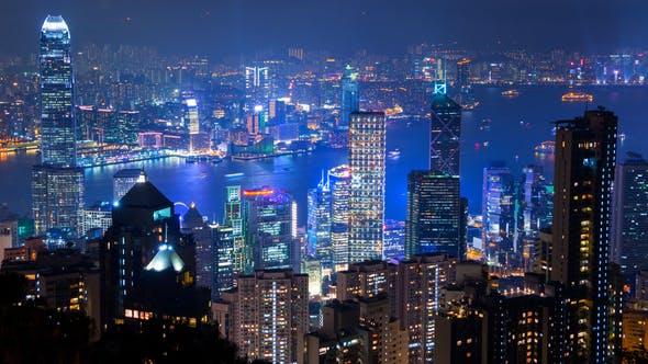 Thumbnail for Dusk over Hong Kong