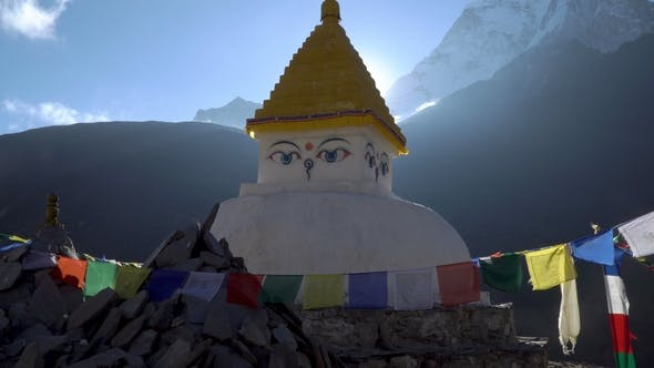 Thumbnail for Buddhist Stupa in the Himalayan Mountains