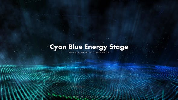 Cover Image for Cyan Blue Energy Stage Pack