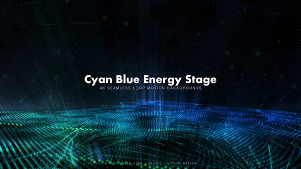 Thumbnail for Cyan Blue Energy Stage