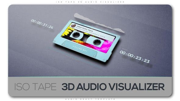 Cover Image for ISO Tape 3d Audio Visualizer