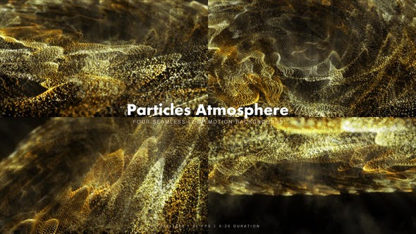 Thumbnail for Particles Atmosphere Yellow