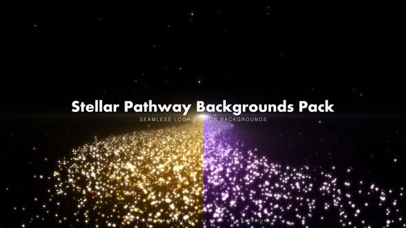 Thumbnail for Stellar Pathway Backgrounds Pack