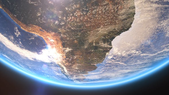 Thumbnail for 4K Earth Close Up South America