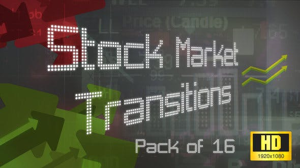 Thumbnail for 16 HD Stock Market Transitions