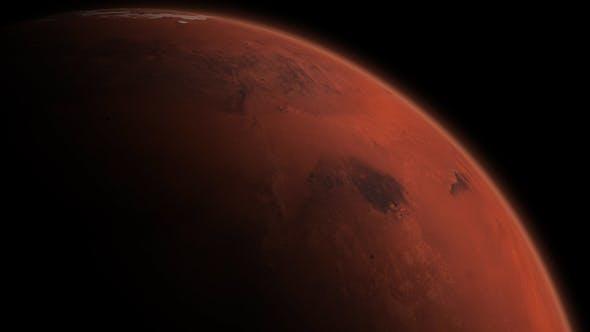 Thumbnail for 4K Mars Close Up North Sunset