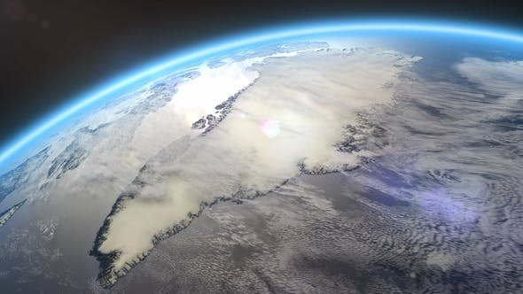 Thumbnail for 4K Earth Close Up Greenland