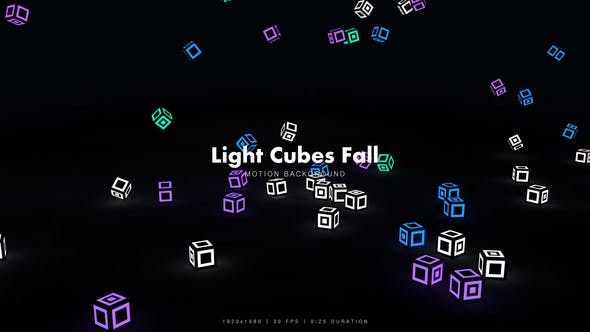 Thumbnail for Light Cubes Fall