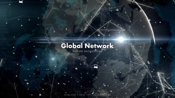 Thumbnail for Global Network with Laptops